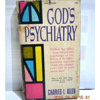 GOD'S PSYCHIATRY by CHARLES ALLEN #0025