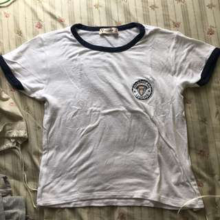 Pull and Bear patch t-shirt