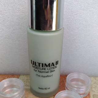 Ultima II Moisture Lotion for Normal Skin (tint Aquagleur) share in jar 5ml