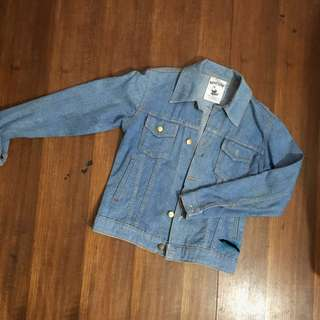 Jaket Jeans Light Blue