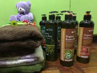 epsa organic shampoo and conditioner