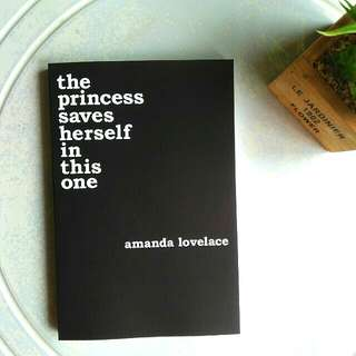 🚚 BN INSTOCK 🔥 the princess saves herself in this one | amanda lovelace