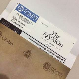 EXO Planet #4: The ElyXiOn in Manila VIP Standing P Ticket
