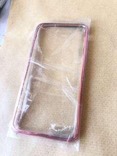 iPhone 6 Plus rose gold case 手機殼玫瑰金透明硬殼