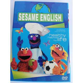 Sesame street 10 DVDs - Learning English is fun!