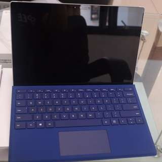 Ultrabook Hybrid Microsoft Surface Pro 4 i5+Keyboard type Blue Colour  lstimewaa