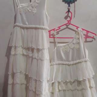 White Dress size 8 and 10