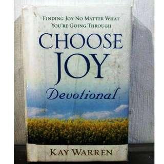 Choose Joy Devotional by KAY WARREN #0041