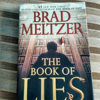 the Book of Lies by Brad Meltzer (hardcover)