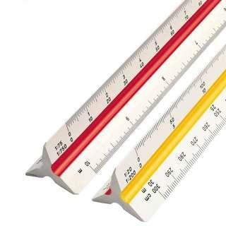 Triangle Scale Ruler