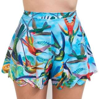 Black Milk Birds In Paradise Shorties Size L