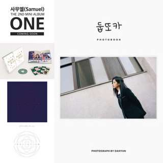 [PRE-ORDER] : UP10TION 1ST ALBUM INVITATION / TWICE PHOTOGRAPH BY DAHYUN / TWICE MERRY HAPPY MONOGRAPH / SAMUEL 2ND MINI ALBUM ONE