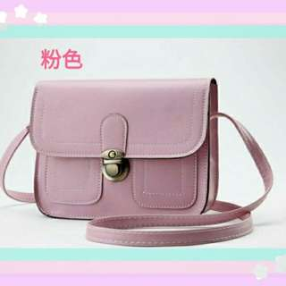 *粉色*熱銷款小方包/側背包/ 女包/肩背包/小方包
