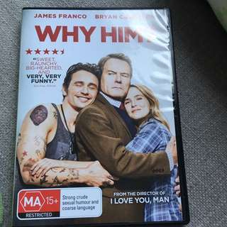 Why Him? Perfect condition just opened yesterday and used once