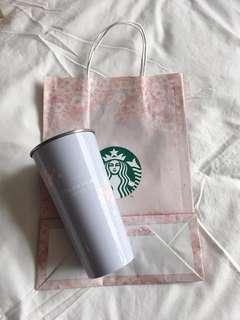 韓國 Starbucks 2018 超高詢問度 櫻花杯 粉紫 cherry blossom tumbler 2018