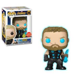 Thor infinity war(glow in the dark)(asia exclusive)(pre order available)