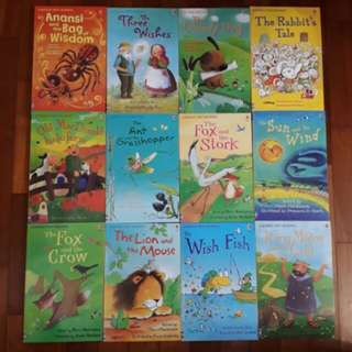 Brand New Set : Usborne First Reading Level 1 Set (12 books)