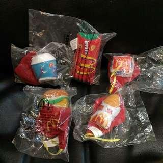 2000/2003年麥當勞食物玩具for 1