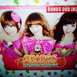 Orange Caramel-1st Mini Album (CD+DVD)