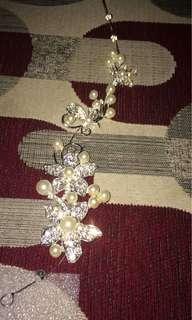 Headpiece mahkota pengantin bridal