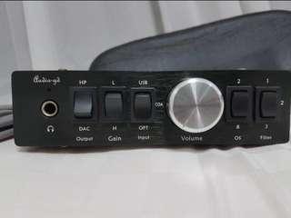 Audio-Gd NFB 15.1 dac preamp headphone amp