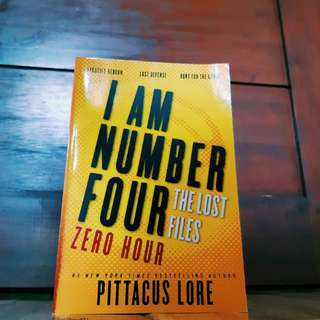 I Am Number Four (Loren Legacies, #1)- Pittacus Lore