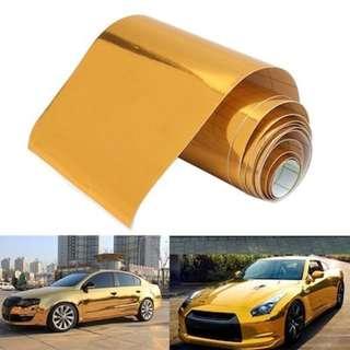 Car Sticker Wrap @silent wrap