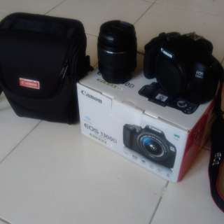 CANON 1300D with Lens Kit, FREE 8GB CARD AND BAG