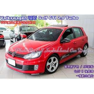 VW 福斯 GOLF GTI 6代 2.0L TURBO 紅
