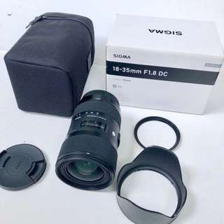 Sigma 18-35 mm F1.8