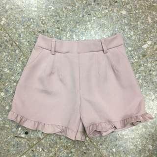 🚚 粉色短褲