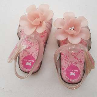 Authentic Zaxy baby girl shoes