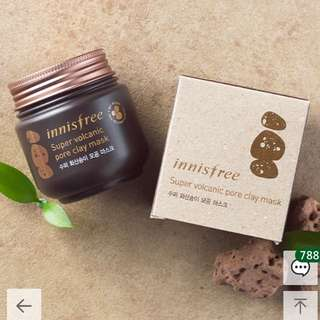 (INSTOCK) Innisfree Super Volcanic Pore Clay Mask