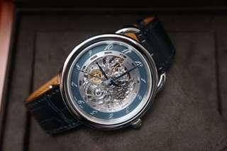 Hermes Arceau 41mm 鋼質鱷魚皮錶帶全自動機械錶芯 配貨價出