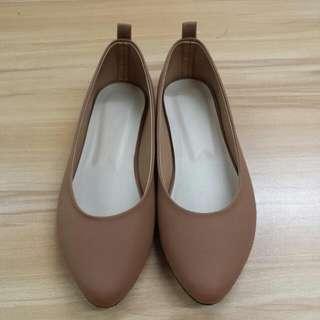 Dollshoes Tan