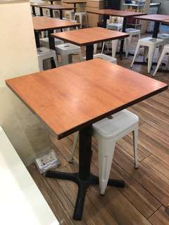 6pcs Cafe table for sale