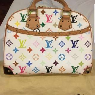 Authentic LV trouville multicolor