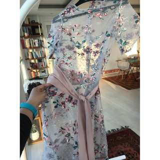 Dress Bordir Bunga