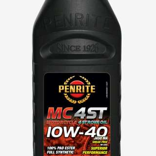 Penrite MC4ST 10w40 PAO Ester Engine Oil