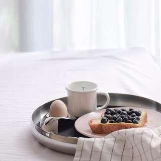 304 stainless steel multi-purpose food tray