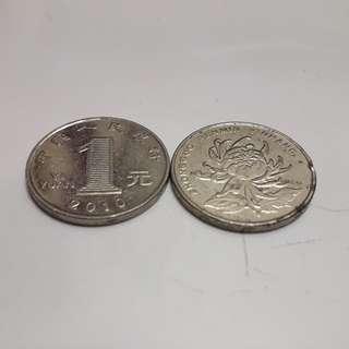 China yuan coind