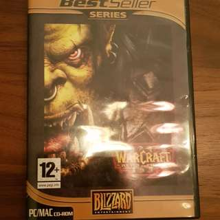 Warcraft III: Reign of Chaos CD + Key