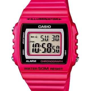 Casio Standard Digital Watch W215H Model