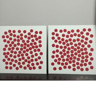 Glenn Doman How to Teach your baby Math book plus self-made dots cards