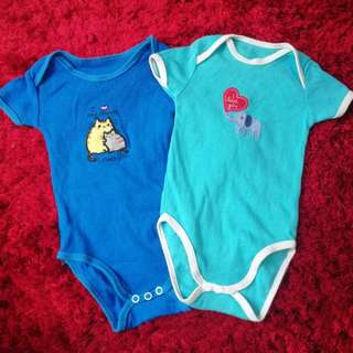 2 pieces Newborn Baby Romper