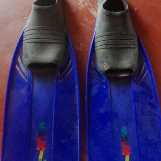 Sprint Swim Fins. Not nike, vans or adidas