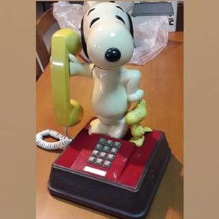 BNIB 70/80s Vintage Snoopy n Woodstock Phone