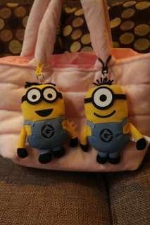 Minion bag chains