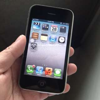 Iphone 3gs 32gb factory unlocked