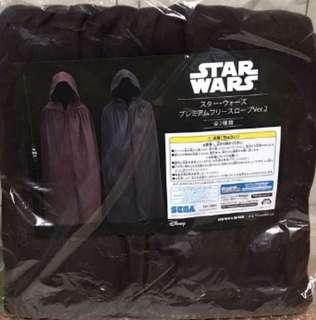 SEGA Star Wars Premium Fleece Jedi Robe Long Black Costume